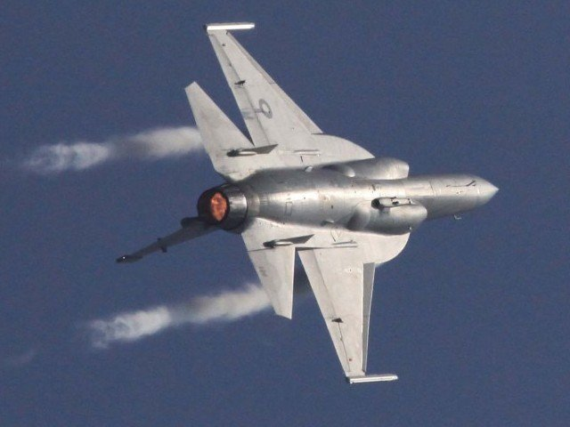 File photo of a Pakistan Air Force JF-17 Thunder. PHOTO: PPI