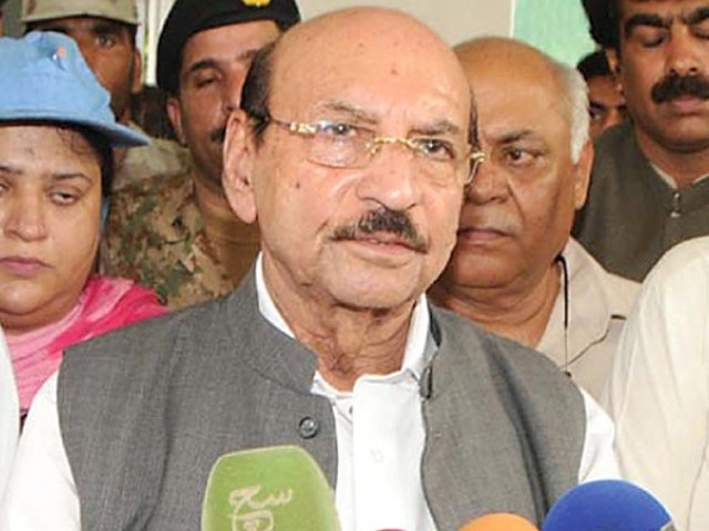 Sindh Chief Minister Qaim Ali Shah. PHOTO: NNI