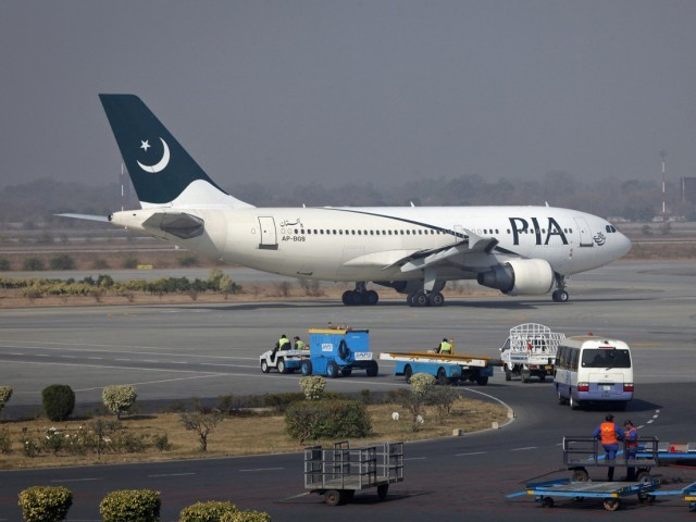 A file photo of a PIA aircraft. PHOTO: REUTERS