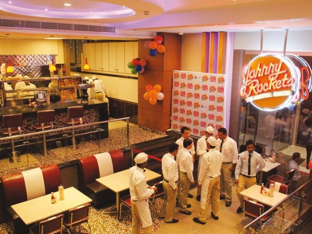 By 2015 Johnny Rockets plan to open five more outlets within the country. PHOTOS: AYESHA MIR/ EXPRESS