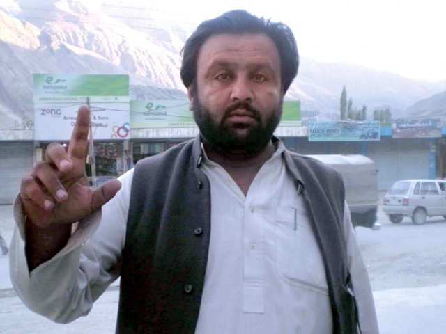 Baba Jan is currently incarcerated in Gilgit Jail after the ATC handed them life imprisonment in September 25. PHOTO: FILE
