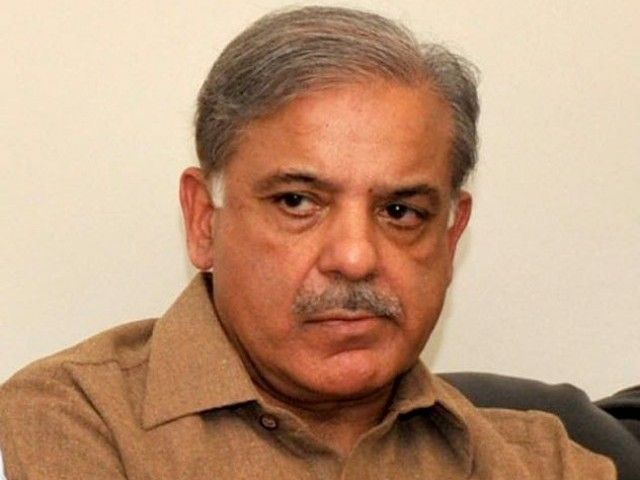 In this file photo, Shahbaz Sharif appeals to parents to cooperate with polio workers. PHOTO: APP