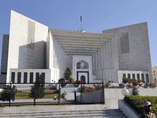 Accused approaches the apex court against SHC's refusal of a bail plea. PHOTO: AFP