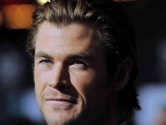 A file photo of Australian actor Chris Hemsworth. He has been named People's Sexiest Man Alive. The announcement was made on the November 18, 2014 telecast of  Jimmy Kimmel Live. PHOTO: AFP