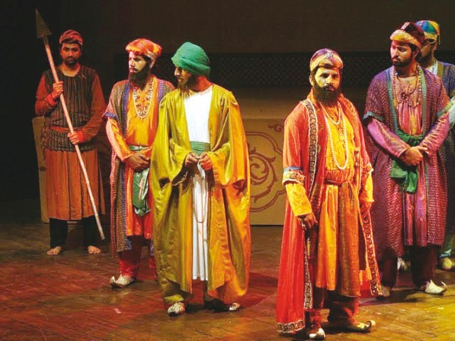 The play is about a succession battle to rule India and the ideologies that have clashed in South Asia over centuries. PHOTOS: FILE