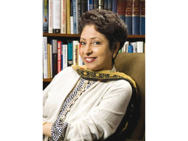 Dr Maleeha Lodhi. PHOTO: FILE