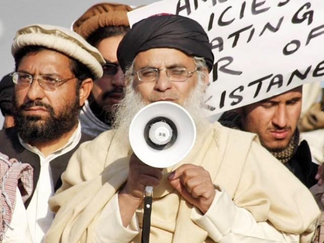 A file photo of Lal Masjid cleric Maulana Abdul Aziz. PHOTO: ONLINE