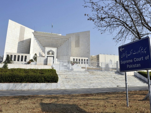 A file photo of Supreme Court of Pakistan. PHOTO: AFP