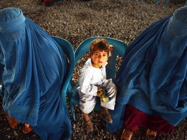The total number of refugees living in the 63 camps of K-P and one Yakaghond camp in Mohmand Agency is around 470,000. That is a large portion of the 536,000 camp-dwelling refugees across the country. PHOTO: AFP
