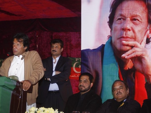 "MPA Khurram Sherzaman, however, said that he supported the party chief's decision. ""Whatever Imran Khan decides is for the party's good,"" he said, adding that he hoped Ali Zaidi will lead the party successfully in Karachi. PHOTO: INP"