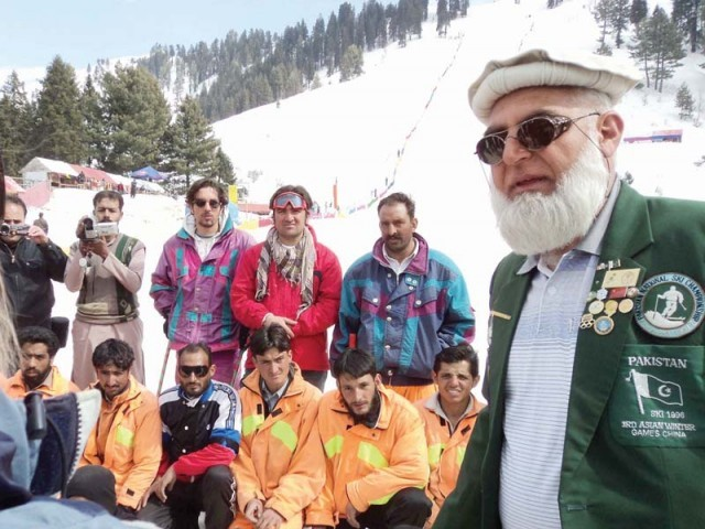According to Khan, installing a new ski lift will provide much-needed reprieve for skiers. PHOTO: FAZAL KHALIQ/EXPRESS