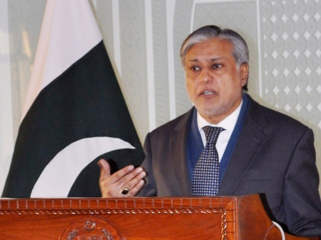 Finance Minister Ishaq Dar. PHOTO: PID