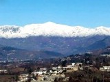 Snow-capped mountains after the season's first snowfall in Maidan area of Timergara. PHOTO: ONLINE