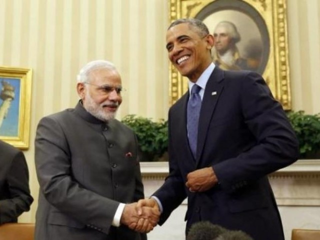 Obama will be flying to Saudi Arabia from India. PHOTO: REUTERS
