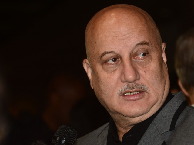 Anupam seeks reconsideration of the decision. PHOTO: AFP