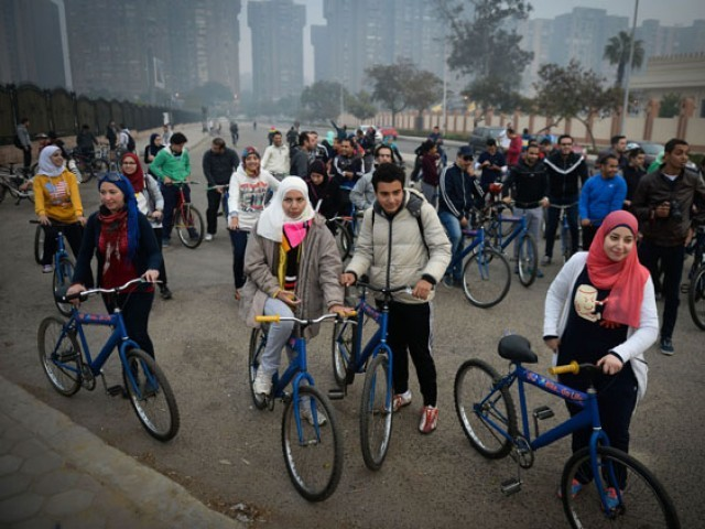 Women enjoy more freedom in Egypt than in deeply conservative Muslim countries such as Saudi Arabia. PHOTO: AFP