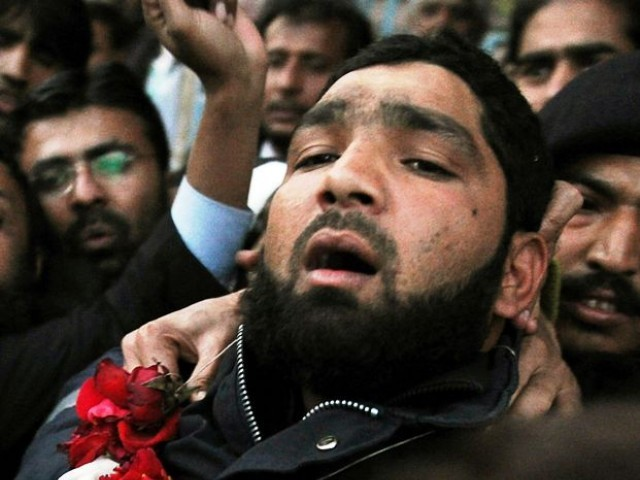 Qadri had filed an appeal challenging the death sentence awarded by the Anti-Terrorism Court . PHOTO: AFP