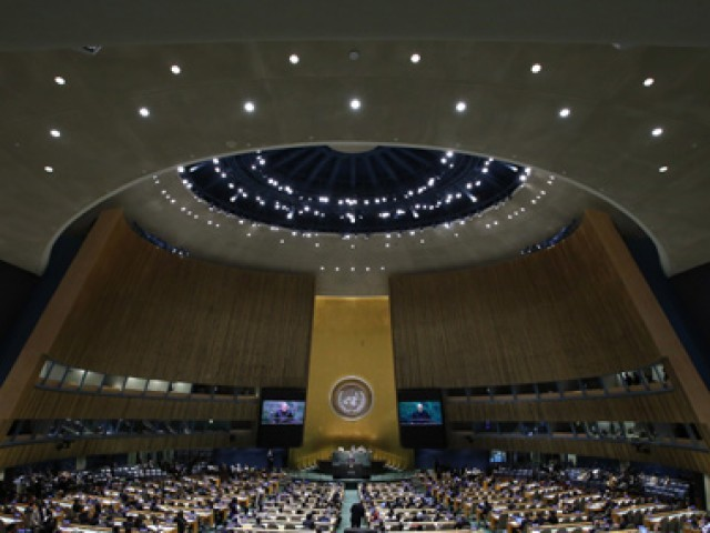 A file photo of United Nations General Assembly. PHOTO: REUTERS