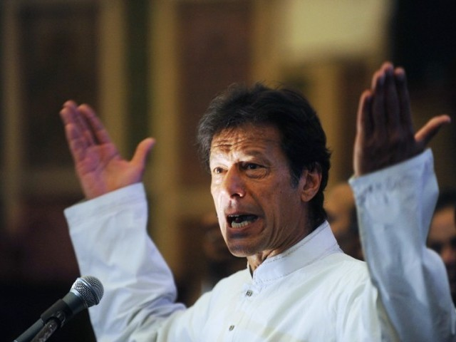 PTI chief Imran Khan. PHOTO: AFP
