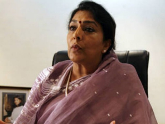 Congress MP Renuka Chowdhury. PHOTO: REUTERS