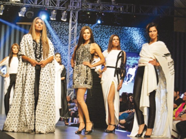 The image displayed is taken from the 2013 TDAP fashion showcase.  PHOTO: PUBLICITY