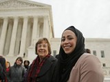 muslim-woman-elauf-stands-with-eeoc-lead-attorney-seely-outside-the-u-s-supreme-court-in-washington