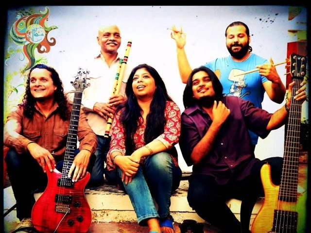 Mekaal Hasan band among 6 who will feature in the Pakistan Showcase PHOTO: MEKAAL HASAN BAND FACEBOOK PAGE