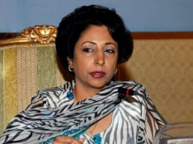 Pakistan's Ambassador to UN Maliha Lodhi. PHOTO: APP