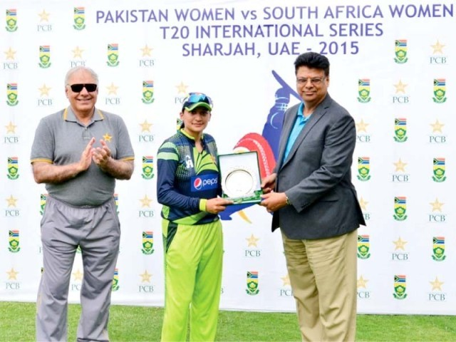 Asmavia continued to impress by taking two wickets and scoring 21 runs. PHOTO: PCB