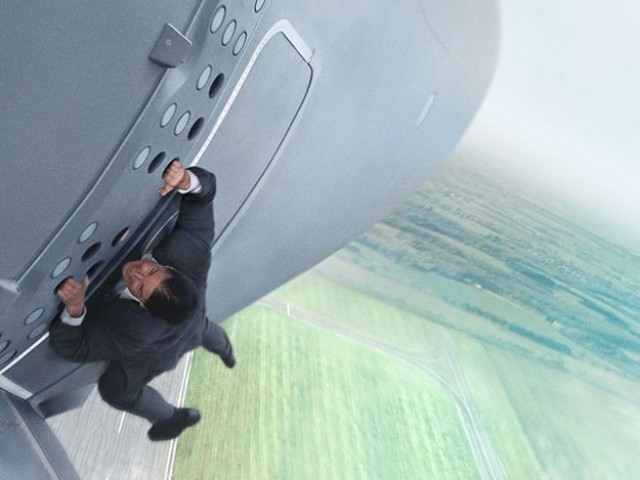 Tom Cruise as Ethan Hunt in Mission: Impossible Rogue Nation. PHOTO COURTESY: PARAMOUNT PICTURES