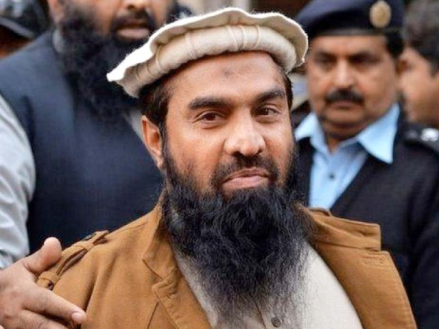 Zakiur Rehman Lakhvi.  PHOTO: FILE
