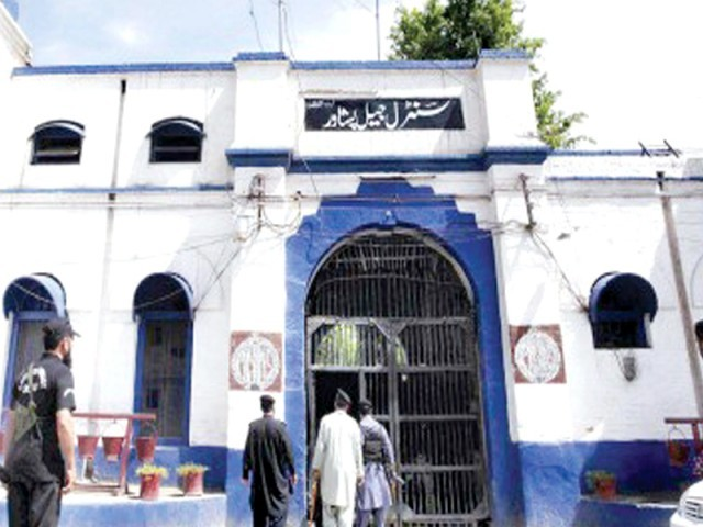 Peshawar central prison. PHOTO: FILE