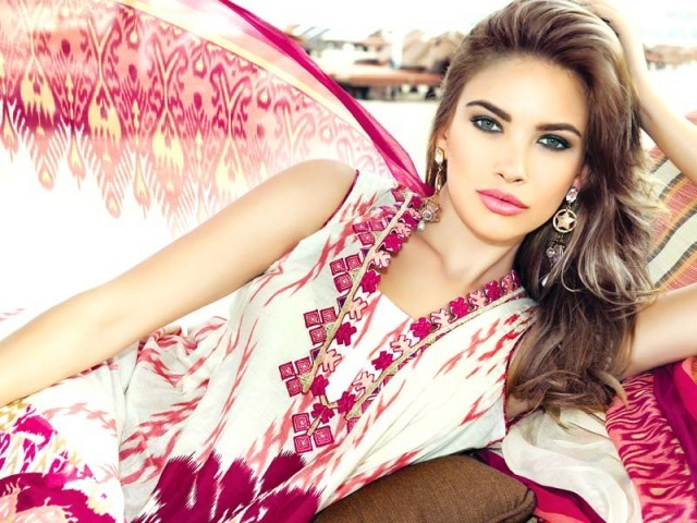 Zeniya Lawn will meet the design aesthetics and taste of Perwani by utilising Ikat dye techniques and fine phulkari embroidery. PHOTO: PUBLICITY