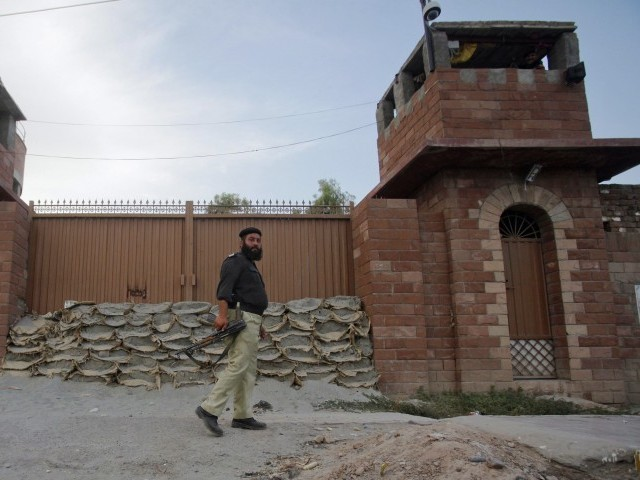 Peshawar Central Jail. PHOTO: EXPRESS
