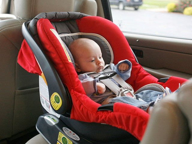 Car seats not safe for baby naps | The Express Tribune