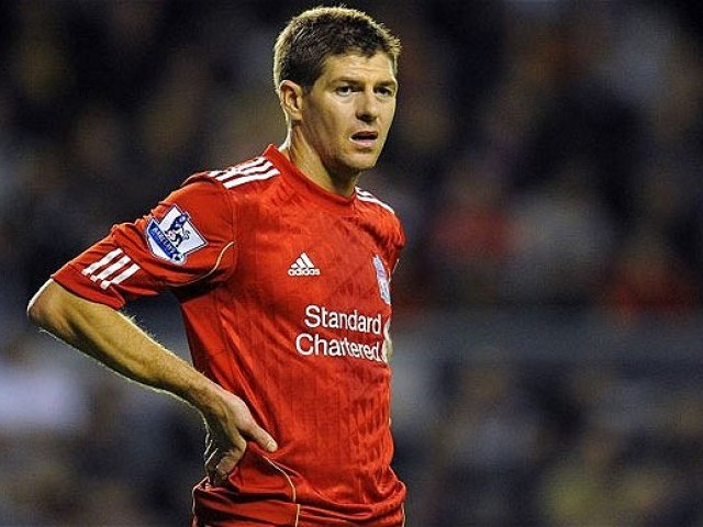 A file photo of Steven Gerrard. PHOTO: AFP