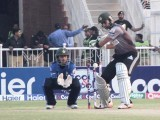 Close watch: Stallions' heartthrob Shoaib Malik averts a sooner return to pavilion. PHOTO MALIK SHAFIQ/EXPRESS