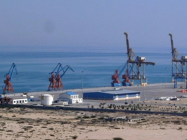 Just as India wants to build up Chabhar to open up new trade routes, China wants to build up Gwadar to open up trade routes and economic exchanges through Pakistan and northward back to China. PHOTO: AFP