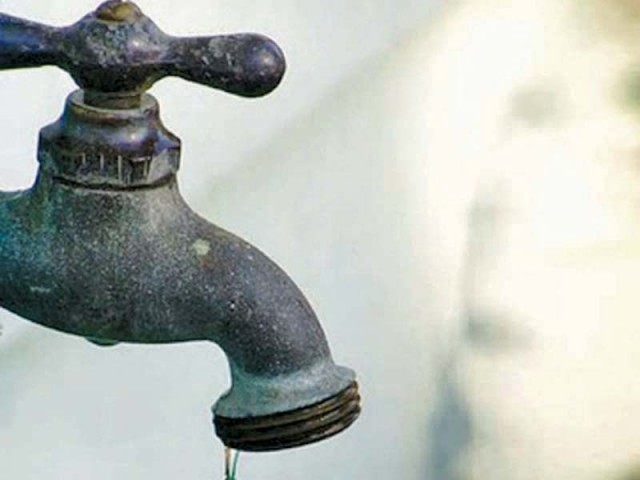 Sharjeel says MQM refused to join committee set up for water distribution in the city. PHOTO: STOCK IMAGE