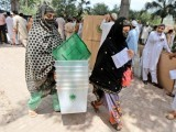 Eleven thousand two hundred polling stations were set up, more than 13 million registered voters casted votes. PHOTO: MUHAMMAD IQBAL/ EXPRESS