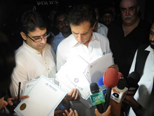 Director FIA Sindh Shahid Hayat. PHOTO: EXPRESS