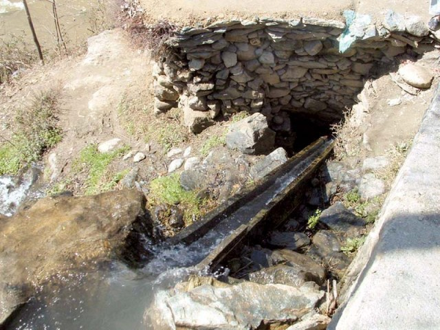 File photo of a water mill. PHOTO: EXPRESS
