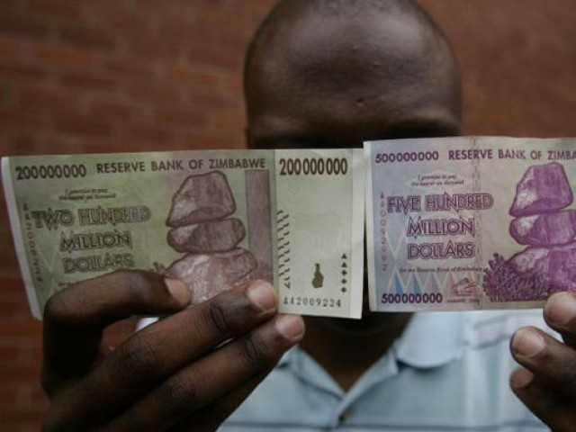 Highest Exchange Rate Zimbabweans To Get Just 5 For 175 Quadrillion Local Dollars