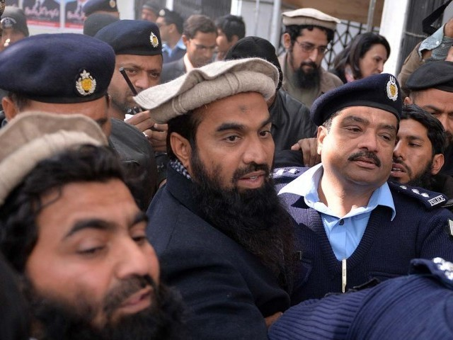 UN Asoke Mukherjee last month had said Lakhvi's release by Pakistan was in violation of the UN Resolution 1267 . PHOTO: AFP