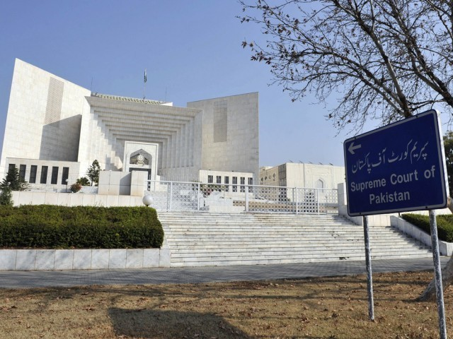 Supreme Court of Pakistan. PHOTO AFP