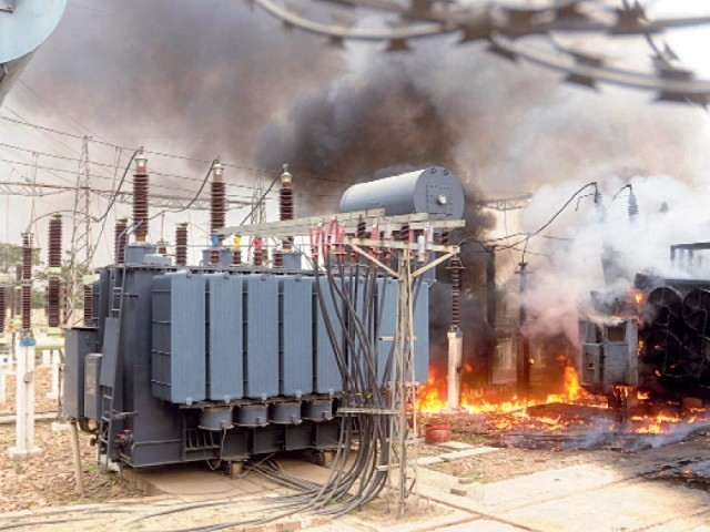 Around 60 feeders connected with these two grid stations of K-Electric tripped. PHOTO: EXPRESS