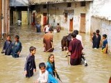 Streets of Rawalpindi were flooded after the rain on Tuesday. PHOTO: ONLINE