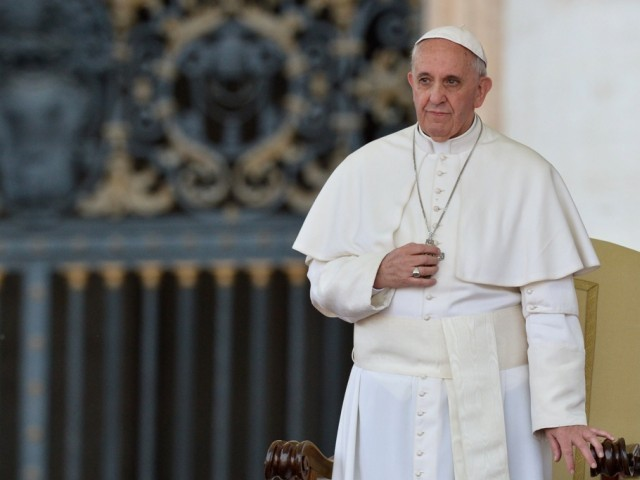 Pope Francis. PHOTO: AFP