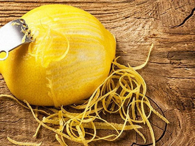 When life gives you lemons, peel them! PHOTO: HEALTHANDHOMEREMEDIES