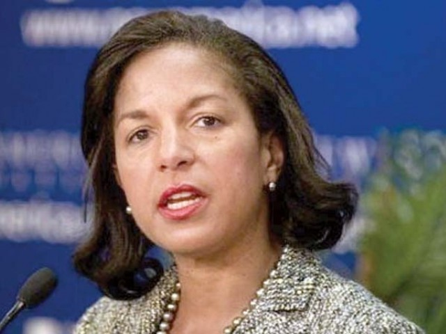 Susan Rice. PHOTO: FILE